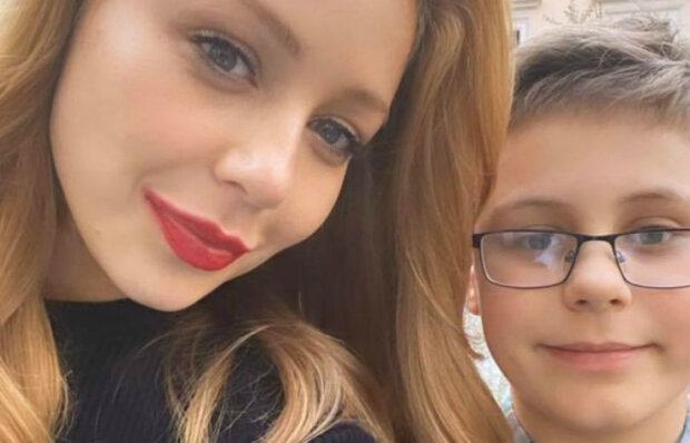 Тина Кароль с сыном, Вениамин