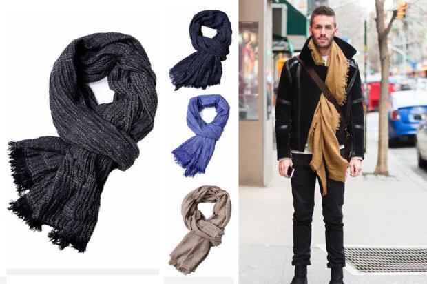 Весенние мужские шарфы: модные тенденции 2020