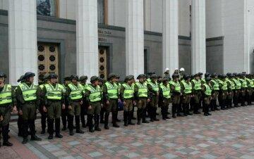 Верховная Рада, полиция