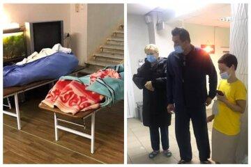 """""""Не хватает кислорода"""": в больнице Одессы мертвые тела лежат в одной палате с живыми, кадры"""