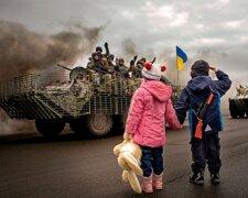 Украина-война-дети