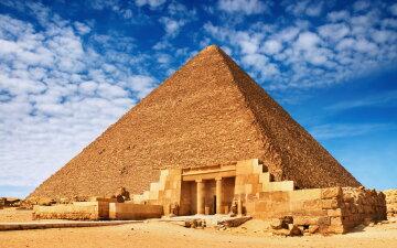 пирамида, египет