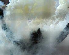 дым шашка беспорядки