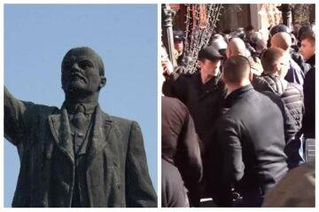"""Охотники за Ленином отыскали еще одного вождя в клубе на Одесчине, фото: """"Молятся на идола?"""""""