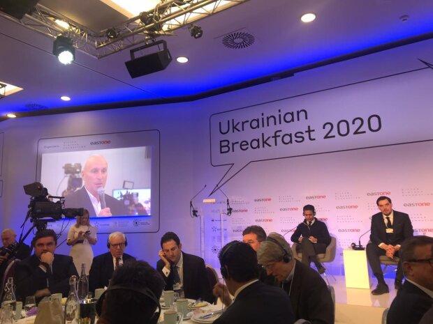 Гончарук на вопрос Ярославского пообещал в Давосе содействие внутренним украинским инвесторам