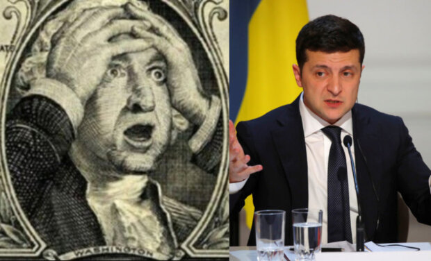 """Долар різко пішов вгору, найгірші прогнози починають збуватися: """"після заяви Зеленського..."""""""