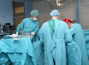 операция, больница, врачи