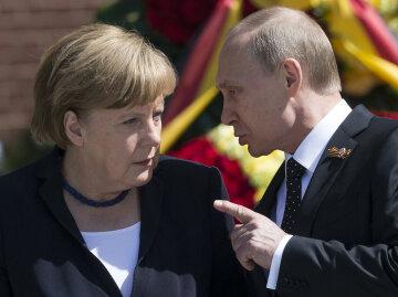 Владимир Путин, Ангела Меркель
