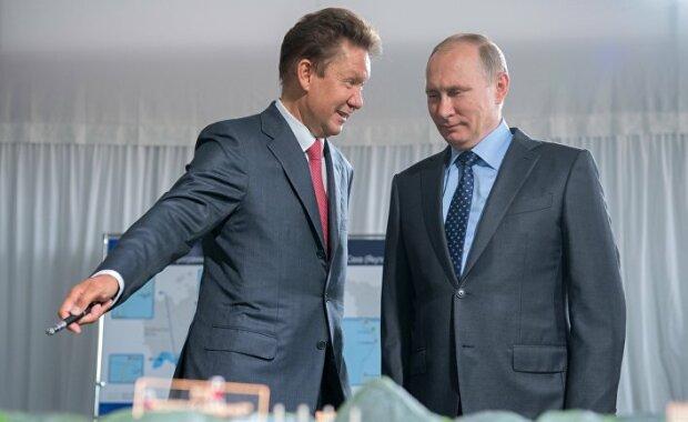 Владимир Путин Алексей Миллер