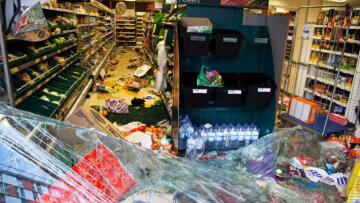 супермаркет погром