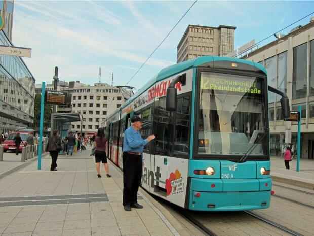 трамвай в Германии