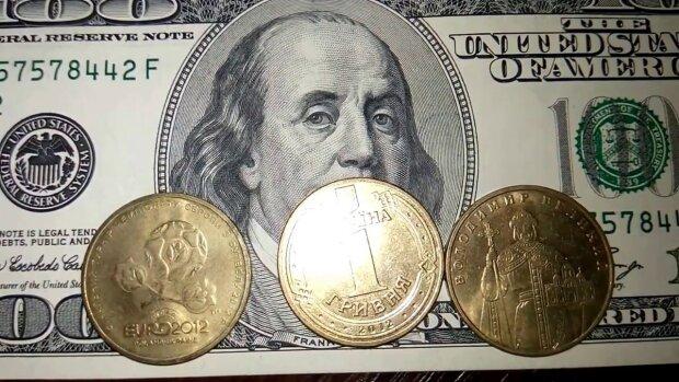 деньги, доллар, гривна