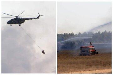 Військові навчання поблизу Одеси обернулися НП, задіяна авіація: кадри того, що відбувається