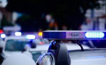 полиция, мигалки, сирена