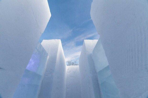 ледяной лабиринт