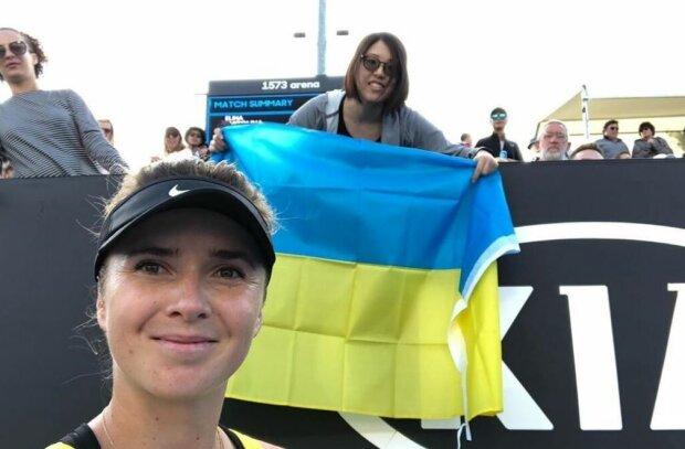 Світоліна з прапором України справила фурор на Australian Open, відео: фанати в захваті