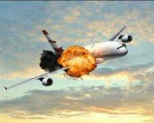 самолет падение