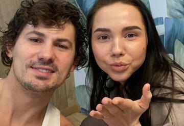 Женя Кот с женой