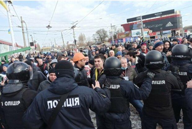 Барабашово, бунт, полиция