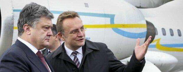 Петр Порошенко, Андрей Садовой