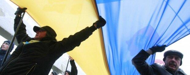 украина флаг язык