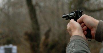 пистолет выстрел убийство