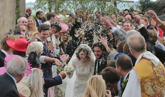 Игра престолов, свадьба, Кит Харингтон и Роуз Лесли