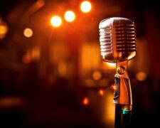 микрофон, петь, артист, звезда