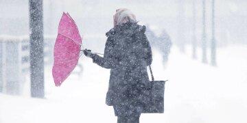 погода, метель, синоптики, Украина, ухудшение, условия, снегопад, ветер, дождь