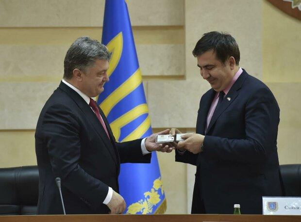 Порошенко, Саакашвили