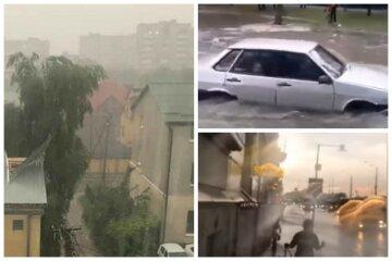 Потужна стихія атакувала Україну, в епіцентрі сотні населених пунктів: кадри негоди