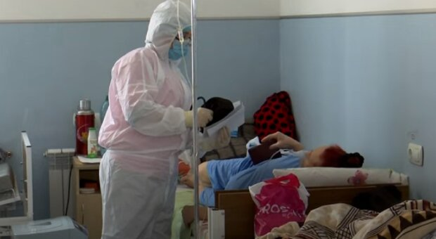 коронавирус, медики, больница