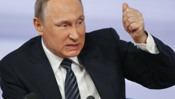 Владимир Путин, ярость