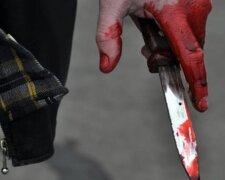 убийство, нож, кровь,