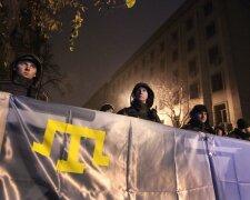 крым крымские татары протест митинг