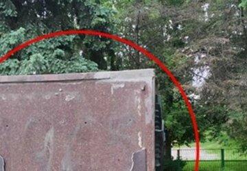 На Харьковщине вандалы изувечили памятник погибшим во Второй мировой: фото
