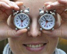 часы, перевод часов, время