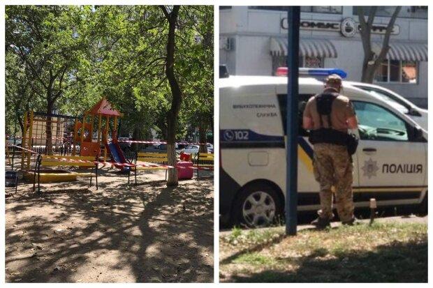 В Одесі оточили дитячий майданчик, є загроза вибуху: перші кадри з місця подій