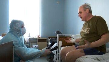 """""""У будь-який момент може все закінчиться"""": в Одесі пацієнти з ковідом розповіли про пережите, відео"""