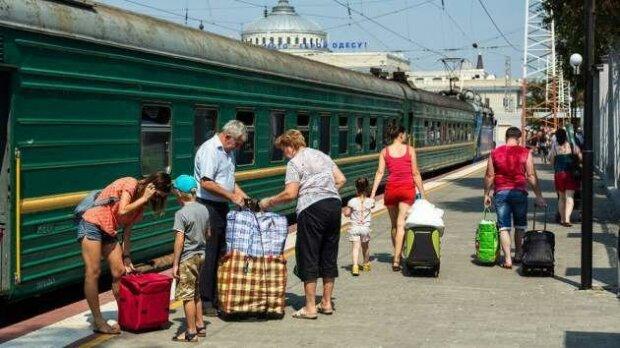 відпустка, потяг, вокзал