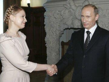 Юлия Тимошенко Владимир Путин