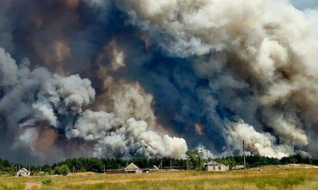 Лісові пожежі в Луганській області: рятувальники зробили екстрену заяву