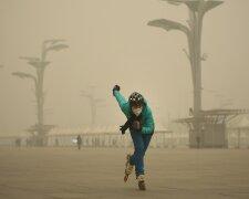 Пекин китай смог