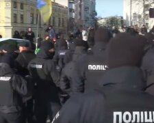 митинг, марш, митинг в Киеве