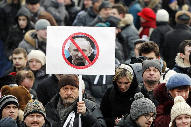 митинги в РФ