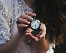 часы, пунктуальность, время, женщина