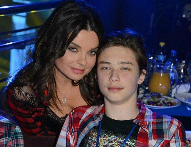 наташа корольова з сином, архип