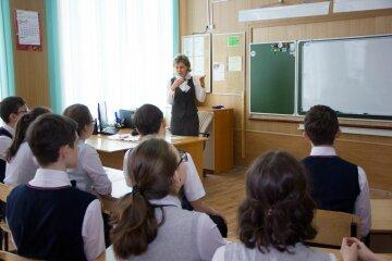 вчитель, школа