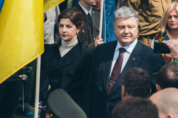 петр порошенко с женой
