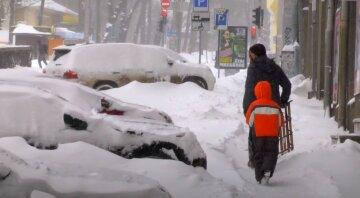 Снег, зима, погода, Украина